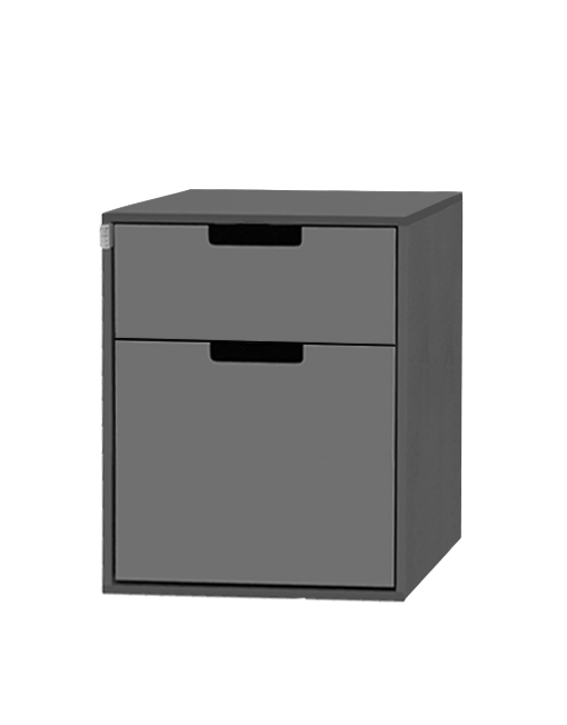 Wasser-Modul mit zwei grauen Schubladen für den VW T6.1 T6 T5