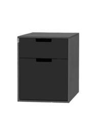 Wasser-Modul mit zwei schwarzen Schubladen für den VW T6.1 T6 T5